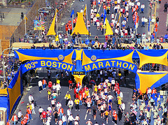 1999 Boston Marathon (Greater Boston Convention & Visitors Bureau, Creative Commons license)